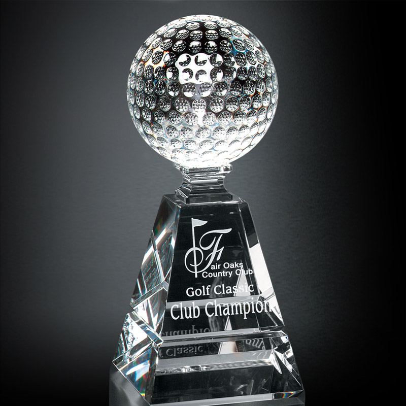 Golf Pyramid Award 6""