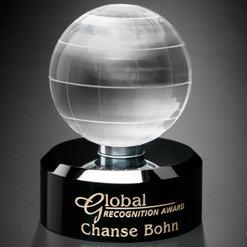 Award In Motion® Globe 4-3/4""