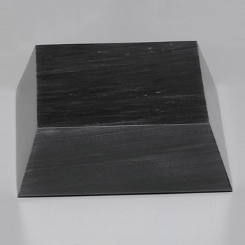 Black Marble Beveled Base 6-1/4""