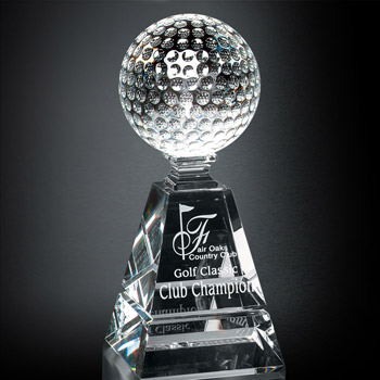 Golf Pyramid Award 8""