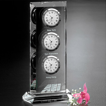 Trilogy Clock 9""
